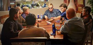 "Poker Night 24""x48""<span class=""sold"">•</span>"