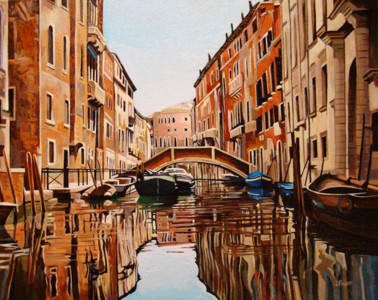 "Canal Classic – 16"" X 20"" <span class=""sold"">•</span>"