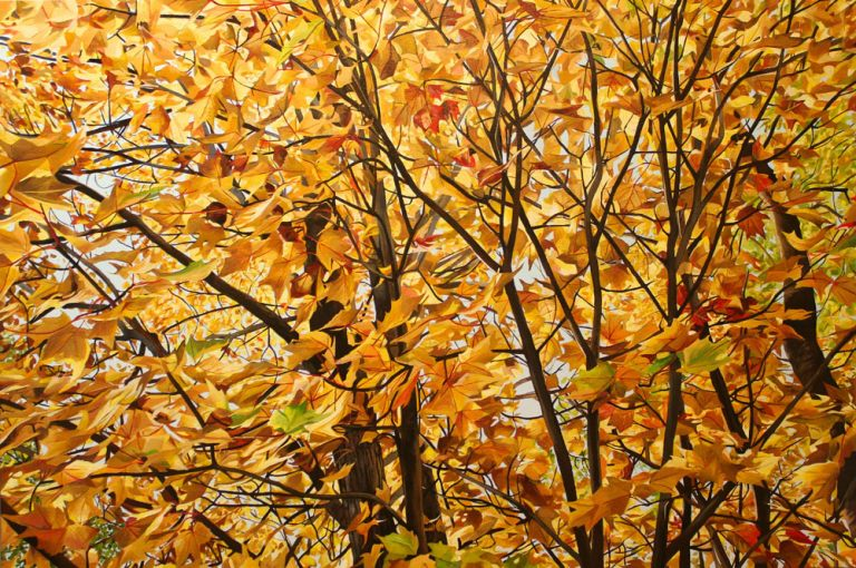 "Golden Canopy – 40""x60"" <span class=""sold"">•</span>"