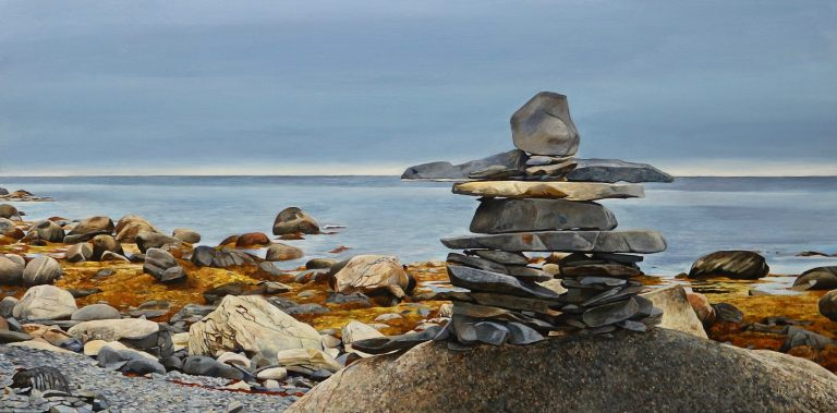"Along the Coast 24""x48""<span class=""sold"">•</span>"