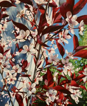 "Cherry Blossoms 20""x24""<span class=""sold"">•</span>"