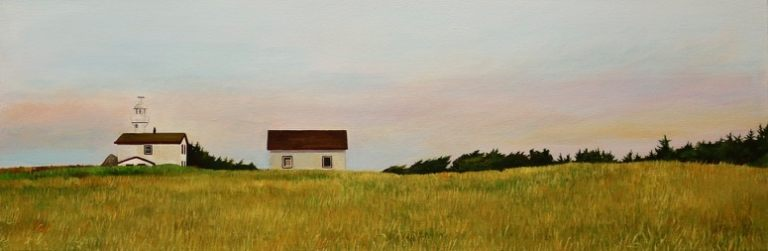 "By the Coast 12""x36""<span class=""sold"">•</span>"