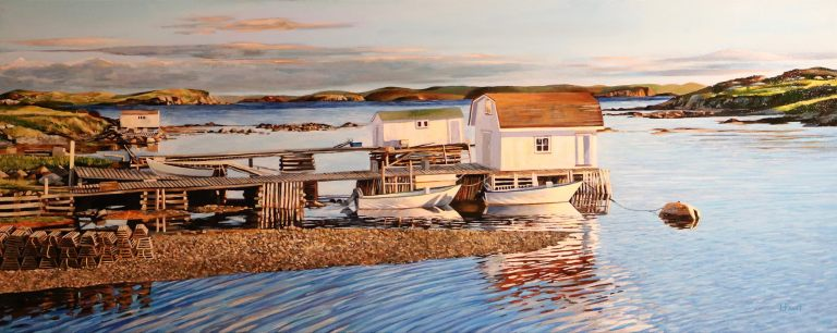 "Harbour View 16""x40""<span class=""sold"">•</span>"