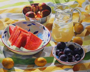 "Bold Fruit Series: Summer Sunday Remix – 24""x30""<span class=""sold"">•</span>"