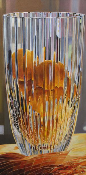 "Bold Fruit Series: Crystal Lemon Fusion – 24""x48""<span class=""sold"">•</span>"