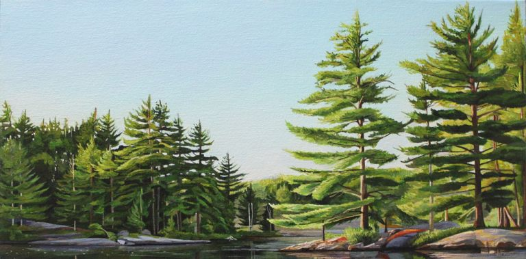 "Around the Bend – 12""x24""<span class=""sold"">•</span>"