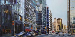 "To TO series: Morning Rush – 24""x48"" <span class=""sold"">•</span>"