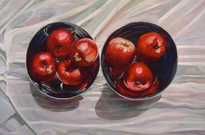 "Bold Apples – 24"" X 36"" <span class=""sold"">•</span>"