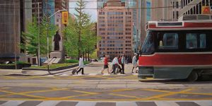 "Modes Series - Urban Crossings – 12"" X 24"" <span class=""sold"">•</span>"